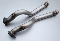 V8 Stainless Exhaust Twin Exit PNM